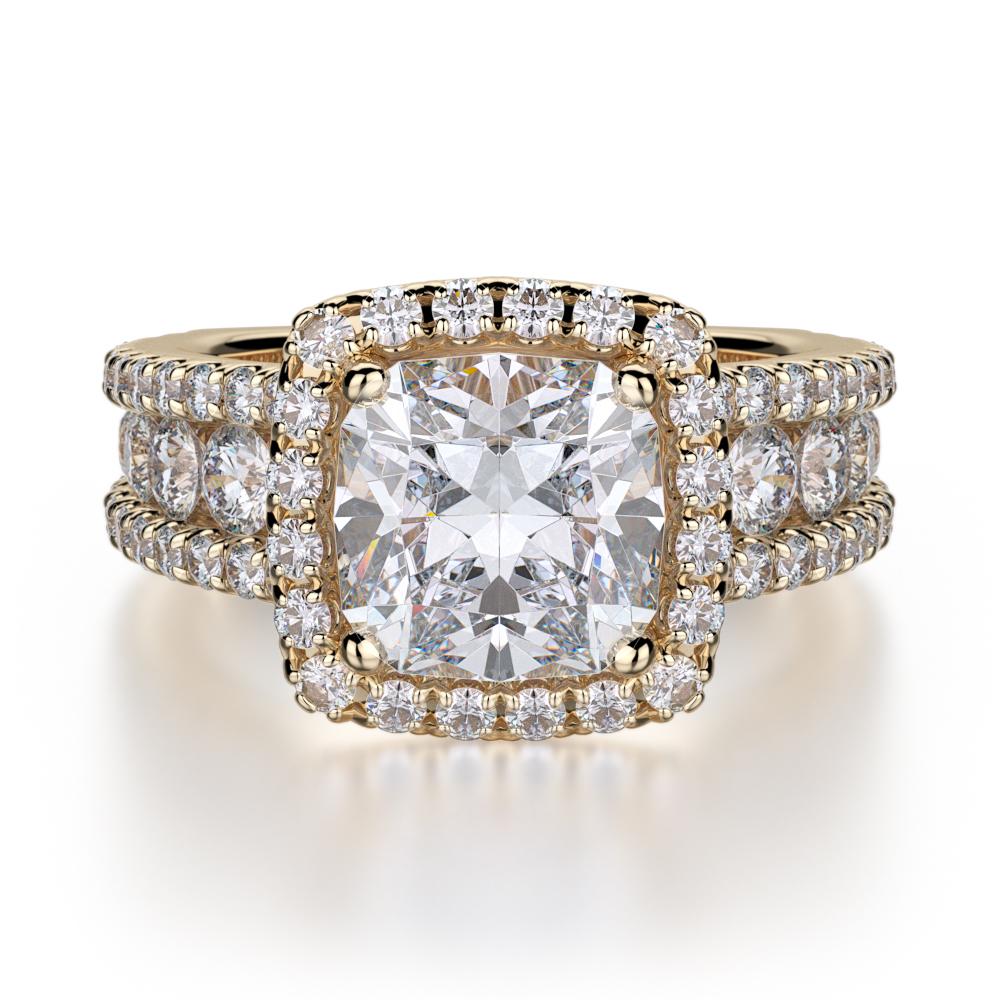 Michael M Princess Engagement ring R663-2 product image