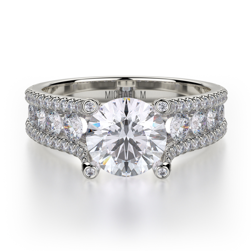 buy michael m r679s 1 5 engagement rings montelongo 39 s