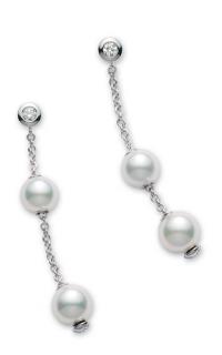 Mikimoto Earrings PEL644DW