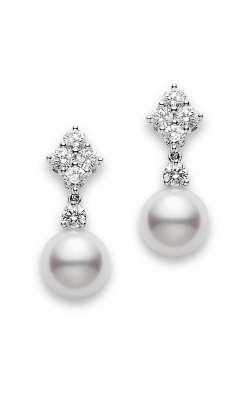 Mikimoto Classic Elegance Drop Earrings PEA 1048D W product image