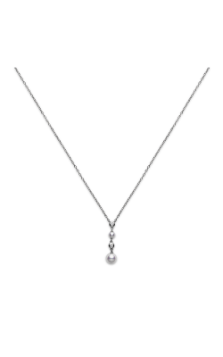 Mikimoto Two Pearl Drop Pendant PP 1631D W product image