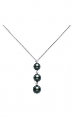 Mikimoto Three Pearl Drop Pendant PP 1815BD W product image