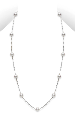 Mikimoto Station Necklace PC 158L W product image