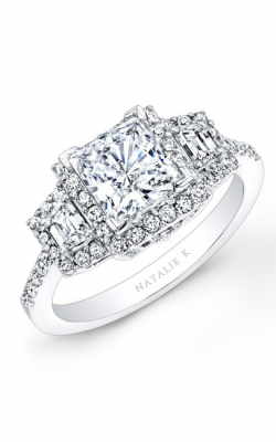 Natalie K Princesse Engagement Ring NK20623-W