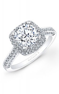 Natalie K Princesse Engagement Ring NK22448-W