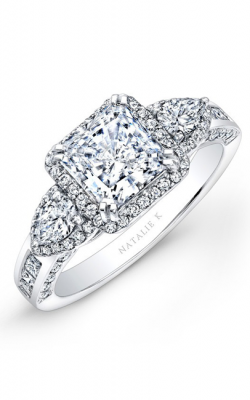 Natalie K Princesse Engagement Ring NK17954-W