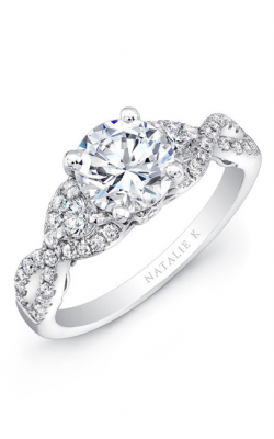 Natalie K Renaissance Collection Engagement Ring NK26638-W product image