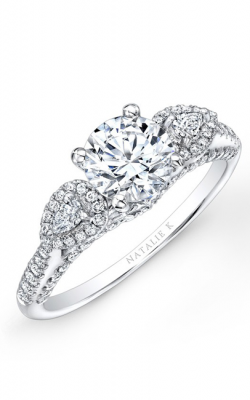 Natalie K Trois Diamants Engagement Ring NK26293-W