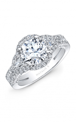 Natalie K Trois Diamants Engagement Ring NK31359-18W