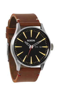 Nixon The Sentry Leather Watch A105-019