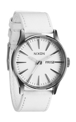 Nixon The Sentry Leather Watch A105-391