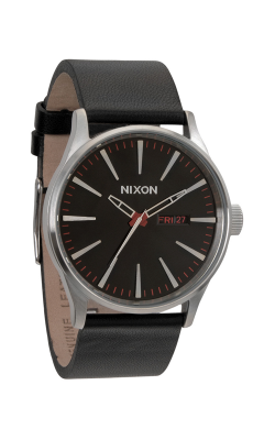 Nixon The Sentry Leather Watch A105-000