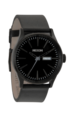 Nixon The Sentry Leather Watch A105-001