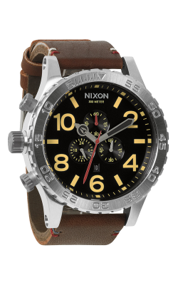 Nixon The 51-30 Chrono Leather Watch A124-019