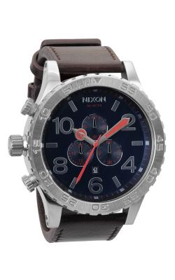 Nixon The 51-30 Chrono Leather Watch A124-879