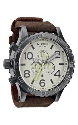 Nixon The 51-30 Chrono Leather Watch A124-1388