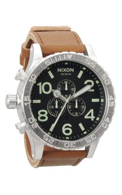 Nixon The 51-30 Chrono Leather Watch A124-1037