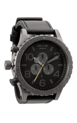Nixon The 51-30 Chrono Leather Watch A124-680