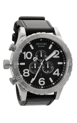 Nixon The 51-30 Chrono Leather Watch A124-000