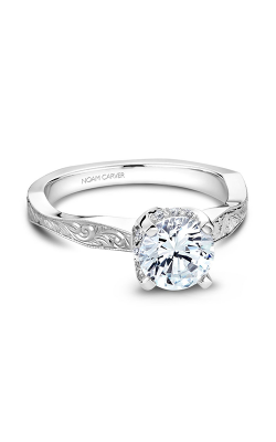 Noam Carver Vingtage Engagement Ring B020-04WM product image