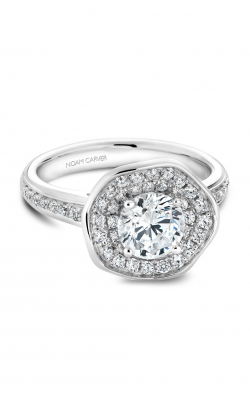 Noam Carver Floral Engagement Ring B014-05A product image