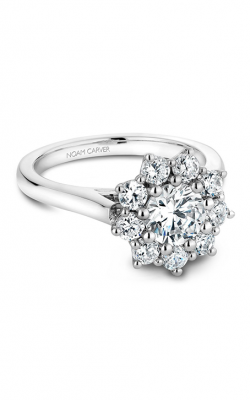Noam Carver Floral Engagement ring B090-01A product image