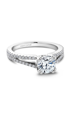 Noam Carver Classic Engagement Ring B001-03A product image