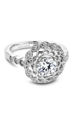 Noam Carver Vintage Engagement Ring B068-01A product image