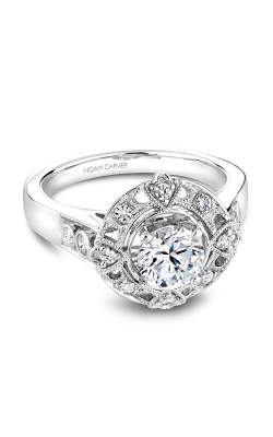 Noam Carver Vintage Engagement Ring B073-01A product image