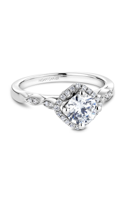 Noam Carver Floral Engagement Ring B084-01WM product image