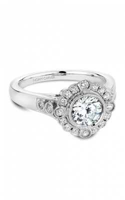 Noam Carver Floral Engagement Ring B091-01WM product image