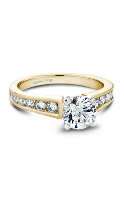 Noam Carver Classic Engagement Ring B006-01YA product image