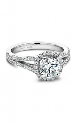 Noam Carver Classic Engagement Ring B015-02A product image