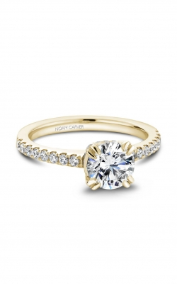 Noam Carver Classic Engagement Ring B009-01YA product image