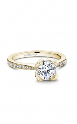Noam Carver Floral Engagement Ring B019-01YA product image