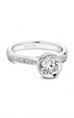 Noam Carver Classic Engagement Ring B145-12A product image