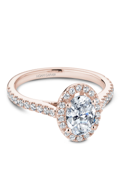 Noam Carver Halo Engagement Ring R050-02RM product image