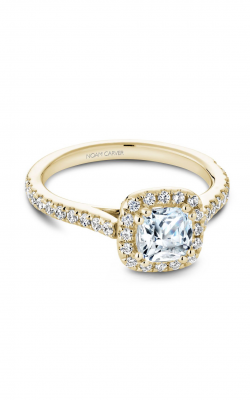Noam Carver Halo Engagement Ring R050-05YM product image