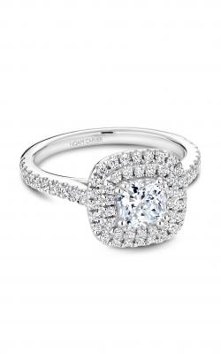 Noam Carver Halo Engagement Ring R051-05WM product image