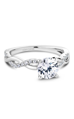 Noam Carver Vintage Engagement Ring B185-02WM product image
