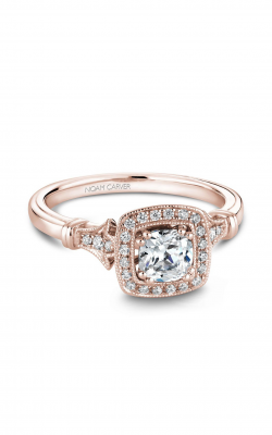 Noam Carver Halo Engagement Ring B076-01A product image