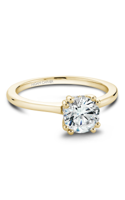 Noam Carver Solitaire Engagement Ring B004-04YM product image