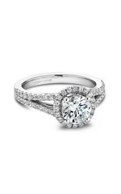 Noam Carver Halo Engagement Ring B015-02WM product image