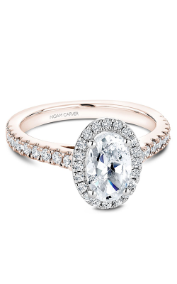 Noam Carver Halo Engagement Ring B029-03RWM product image