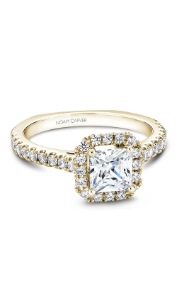 Noam Carver Halo Engagement Ring B034-02YM product image