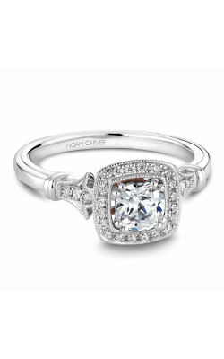 Noam Carver Halo Engagement Ring B076-01WM product image