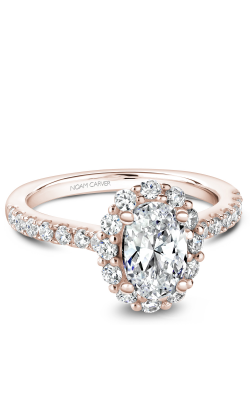 Noam Carver Halo Engagement Ring B189-01RM product image