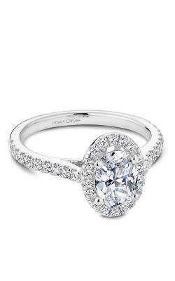 Noam Carver Halo Engagement Ring R050-02WM product image