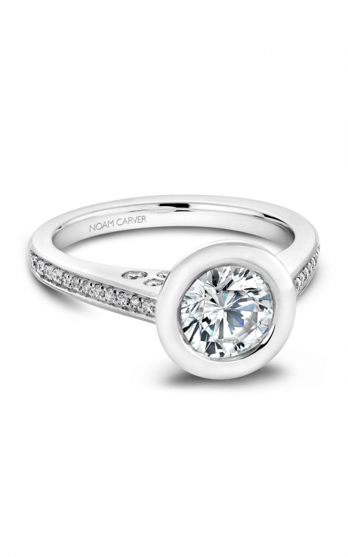 Noam Carver Modern Engagement ring B016-02A product image