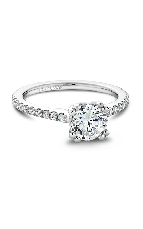 Noam Carver Classic Engagement Ring B001-01A product image